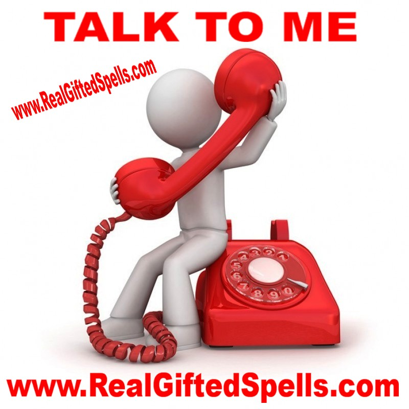 Talk to Me Spell - Call Me Spell - Spell To Make Someone Contact You - Spells To Make Someone Talk To You - Hoodoo Talk To Me Oil