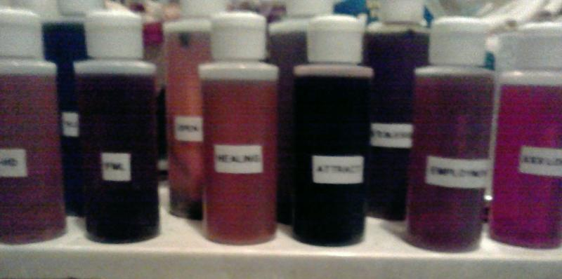 magic potions - love oils - love potions - occult oils - money oils