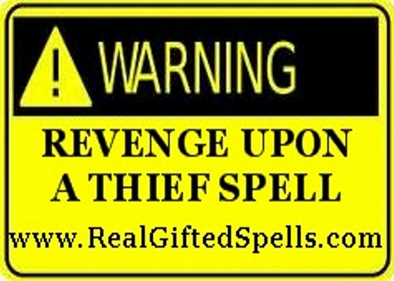 spells to punish a thief liar - put a curse spell on a thief