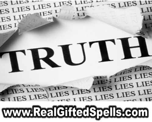 truth spells - uncover the truth spells - truth spells that work - truth love spells- truth be known spells